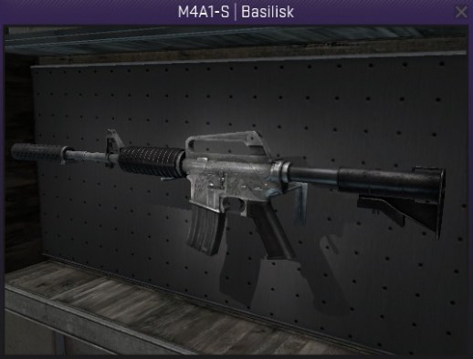 StatTrak M4A1-S Basilisk - Field Tested CS:GO Skin