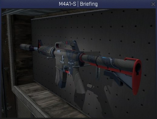 M4A1-S Briefing - Field Tested CS:GO Skin