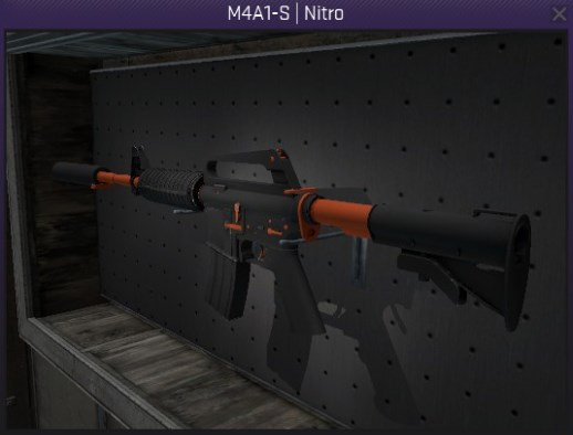 M4A1-S Nitro - Field Tested CS:GO Skin